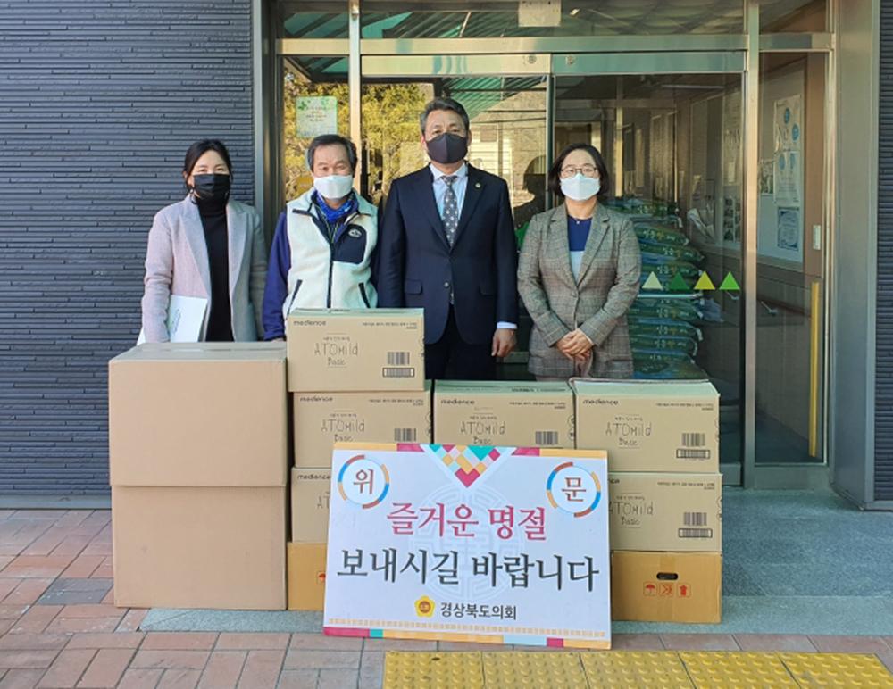 박정현 건설소방위원장, 복지시설 방문